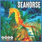 Seahorse 2021 wall calendar: 18 Monthly Square Calendar 2021 Cover Image