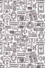 Podcast Notebook: Graph Paper Notebook, 6x9 Inch, 120 pages Cover Image