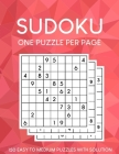 Sudoku Puzzles One Puzzle Per Page: 150 Easy to Medium Puzzles with Solutions Cover Image