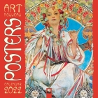 Art Nouveau Posters Wall Calendar 2022 (Art Calendar) Cover Image