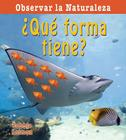 Que Forma Tiene? = What Shape Is It? Cover Image