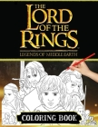 Lord Of The Rings Coloring Book Cover Image