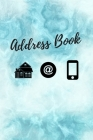 Address Book: Address Book A-Z, Emergency Contact Book, Birthday, Partner, Relation, Paperback, Telephone And Address Book,6
