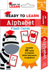 Ready to Learn: Pre-K-K Alphabet Flash Cards Cover Image