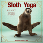 Sloth Yoga 2021 Wall Calendar Cover Image