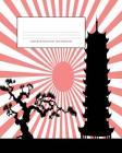 Genkouyoushi Notebook: Kanji Practice Notebook & Paper & Workbook & Book, Japanese Writing Practice Book & Notetaking of Kana and Kanji Chara Cover Image