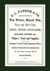 E. L. Parker & Co. Tinners' Tools & Supplies, Baltimore 1868 Cover Image