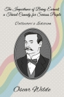 The Importance of Being Earnest: A Trivial Comedy for Serious People - Collector's Edition Cover Image