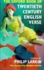 The Oxford Book of Twentieth Century English Verse Cover Image