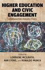 Higher Education and Civic Engagement: Comparative Perspectives Cover Image