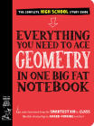 Everything You Need to Ace Geometry in One Big Fat Notebook (Big Fat Notebooks) Cover Image