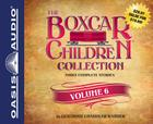 The Boxcar Children Collection Volume 6 (Library Edition): Mystery in the Sand, Mystery Behind the Wall, Bus Station Mystery Cover Image