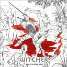 The Witcher Adult Coloring Book Cover Image