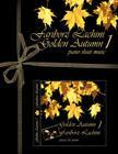 Golden Autumn 1 Piano Sheet Music: Original Solo Piano Pieces Cover Image