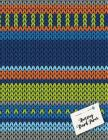 Knitting Graph Paper: Knitting Design Graph Paper 40 Stitches = 50 rows, Designing your own patterns by yourself. Record and Create your pro Cover Image