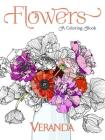Veranda Flowers: A Coloring Book Cover Image