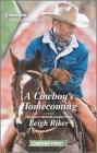 A Cowboy's Homecoming: A Clean Romance (Kansas Cowboys #9) Cover Image
