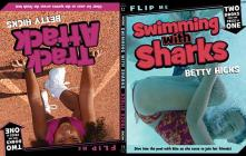 Swimming with Sharks / Track Attack: Two Books in One (Gym Shorts) Cover Image