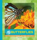 Butterflies: A Close-Up Photographic Look Inside Your World (Up Close) Cover Image