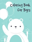 Coloring Book for Boys: Coloring Pages Christmas Book, Creative Art Activities for Children, kids and Adults Cover Image