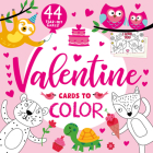 Valentine Cards to Color (Clever Greetings) Cover Image