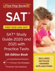 SAT Prep 2020 and 2021: SAT Study Guide 2020 and 2021 with Practice Tests [5th Edition Book] Cover Image