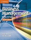 Business Management for the Ib Diploma Coursebook Cover Image