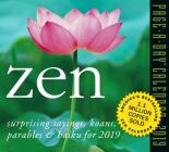 Zen Page-A-Day Calendar 2019 Cover Image