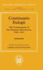 Continuatio Eulogii: The Continuation of the Eulogium Historiarum, 1364-1413 (Oxford Medieval Texts) Cover Image