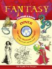Fantasy [With CD-ROM] (Dover Full-Color Electronic Design) Cover Image