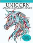 Unicorn Coloring Book: Adult Coloring Book with Beautiful Unicorn Designs (Unicorns Coloring Books) Cover Image