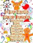 Die kleine Prinzessin Fröhliche Weihnachten Buch der Aktivitäten Für Kinder Spielen und Spaß Lernen, zu schreiben Lernen, zu zeichnen Säumen die Punkt Cover Image