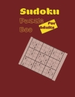 Sudoku Puzzle Boo for Adults: Sudoku Book for Adults, 101 pages with solutions, great gift, Cover Image