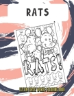 Rats Clean Curse Words Coloring Book: Silly and Fun Clean Curse Words Coloring Book. Also Find Crap Poop Emoji on Back Pages. Color for All Ages. Cover Image