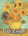 Van Gogh Paintings Adult Coloring Book: Aesthetic Relaxing Grayscale Pictures to Color for Fine Art Lovers Cover Image