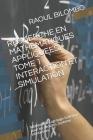 Recherche En Mathematiques Appliquees. Tome 1 Interaction Et Simulation: Méthode de Lagrange-Galerkin pour les densités. Système interaction. Cover Image