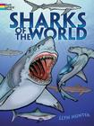 Sharks of the World Coloring Book (Dover Nature Coloring Book) Cover Image