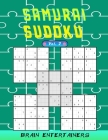 Samurai sudoku Vol. 2: Challenging puzzles for teens and adults for all levels. Cover Image