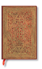 Paperblanks Golden Pathway Mini Lined Cover Image
