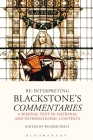 Re-Interpreting Blackstone's Commentaries: A Seminal Text in National and International Contexts Cover Image