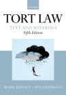 Tort Law: Text and Materials Cover Image