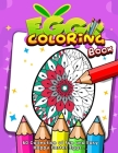 Eggs Coloring Book: 60 Collection of Fun and Easy Happy Easter Eggs ...: Easter Coloring Book For Toddlers And Preschool Kids, Easter Bask Cover Image