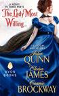 The Lady Most Willing...: A Novel in Three Parts (Avon Historical Romance) Cover Image