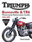 Triumph Bonneville & TR6 Motorcycle Restoration Guide: 1956-83 Cover Image