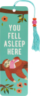 You Fell Asleep Here Beaded Bookmark Cover Image