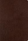 ESV Single Column Journaling Bible, Large Print (Mocha) Cover Image