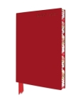 Red Artisan A6 Diary 2021 Cover Image