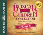 The Boxcar Children Collection Volume 29 (Library Edition): The Disappearing Staircase Mystery, The Mystery on Blizzard Mountain, The Mystery of the Spider's Clue Cover Image