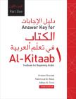 Answer Key for Al-Kitaab fii Tacallum al-cArabiyya: A Textbook for Beginning ArabicPart One, Third Edition Cover Image