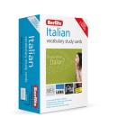 Berlitz Vocabulary Study Cards Italian (Language Flash Cards) Cover Image